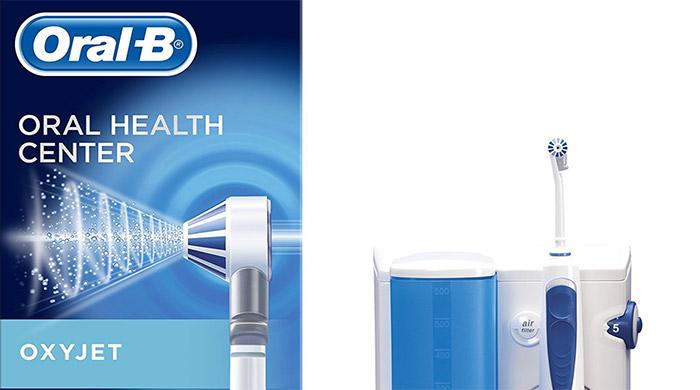 oral b oxyjet sistema pulente con idropulsore  Oral-B Oxyjet - Idropulsore Con Sistema Pulente e Testine di Ricambio